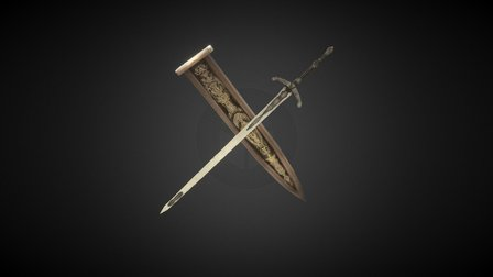 Ludwig's Holy Blade 3D Model