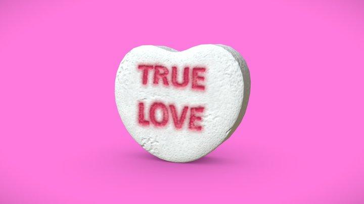 Heart Candy - True Love 3D Model