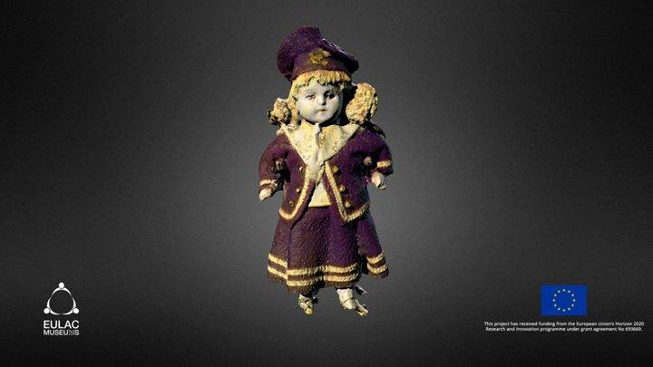 Emigrants doll 3D Model