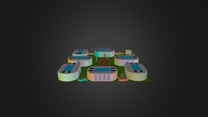 Learning Space-With Vegies and Chooks 3D Model