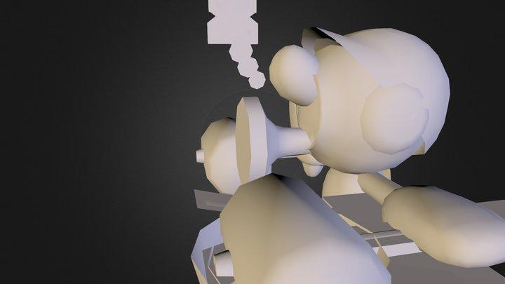 ah 3D Model