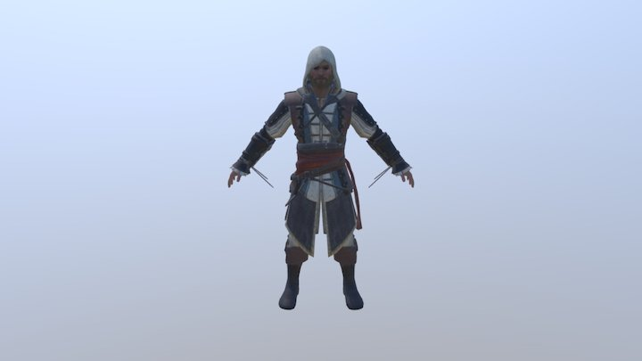 Edward Kenway 3D Model