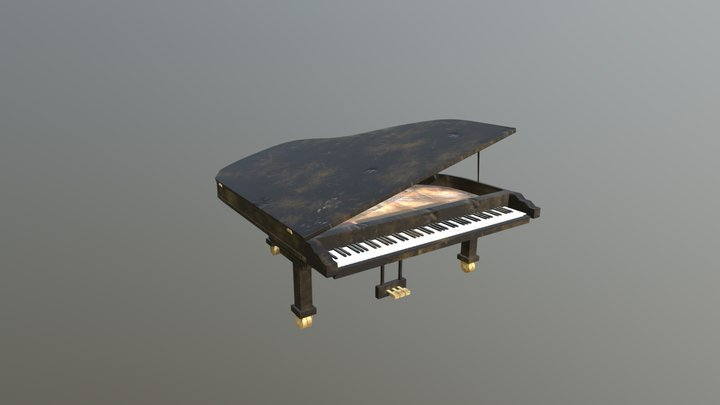 Haunted Mansion - Piano 3D Model