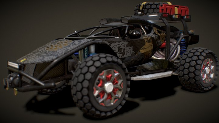 FRZ 3D Model