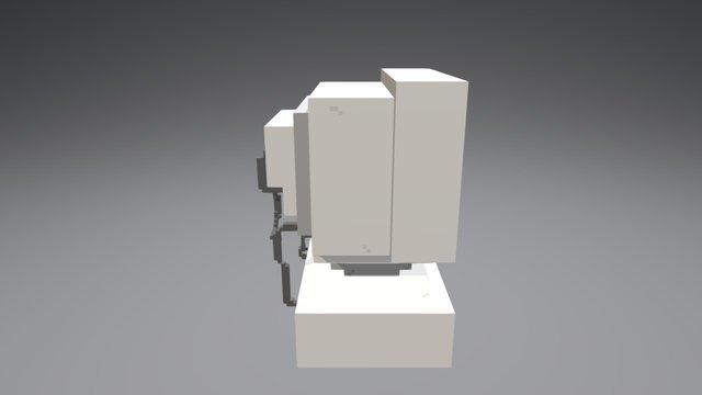 Old computer 3D Model