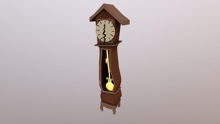 Horloge cartoon / Cartoon clock 3D Model