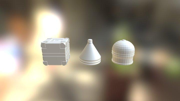 Mesh-modeling Fun Exercise01 3D Model