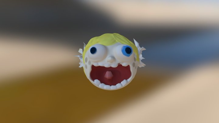 Screeching into the Abyss 3D Model