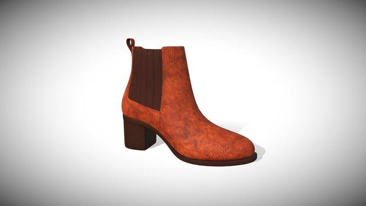 chelsea boot heel 3D Model