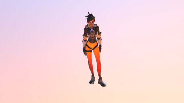 Tracer is Happy 3D Model