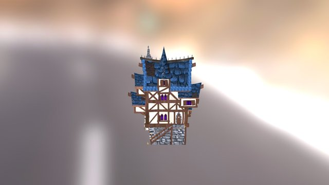 Village Project House 3D Model