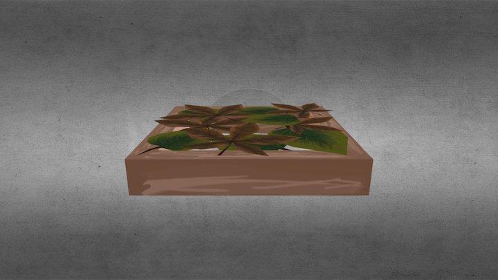 B 5 Leaf Crumble 0 3D Model