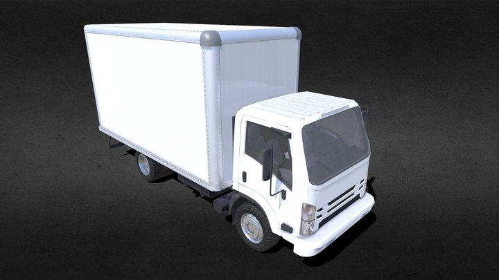 Delivery Truck 3D Model