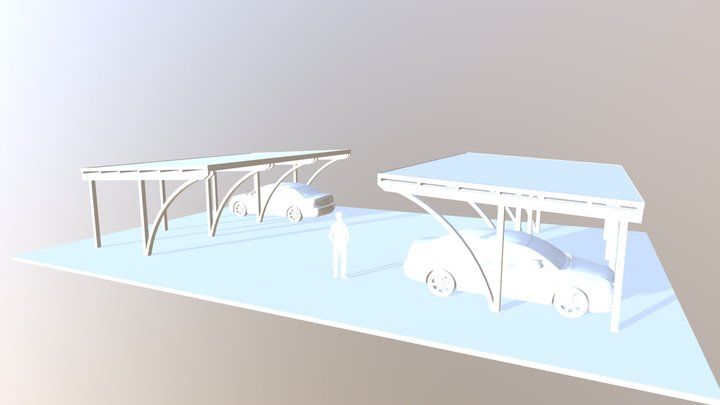 Posti Auto Matteo & Sara 3D Model