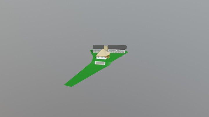 2018 05 08 Pensiune Slanic V2 3D Model