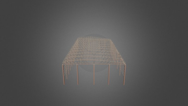 Estrutura Metálica - Fluvimar Lanchas 3D Model