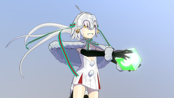 Jeanne d'Arc Alter Santa Lily 3D Model