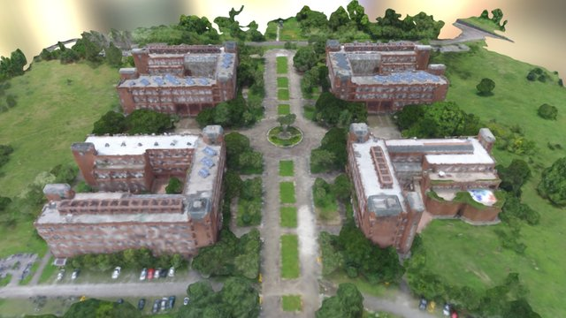 Science College 3D Model