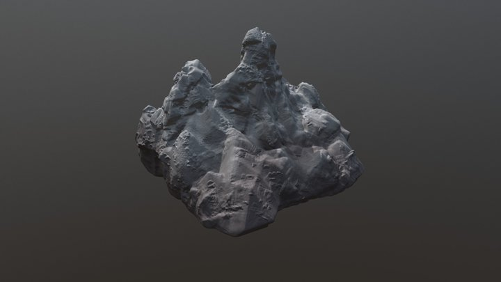Mount Veritall 3D Model