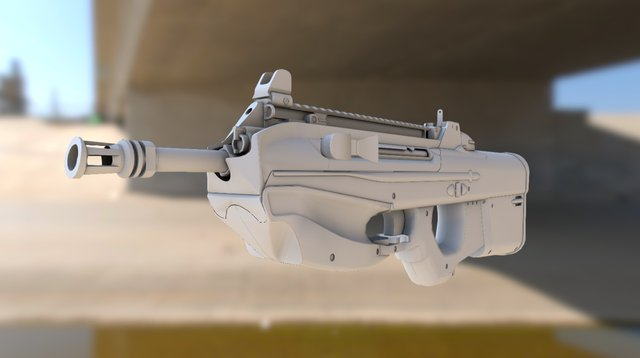 F2000 G2010 without scope 3D Model
