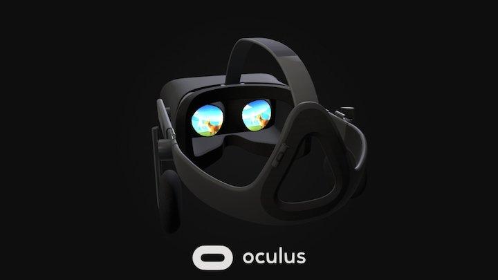 Oculus Rift 3D Model