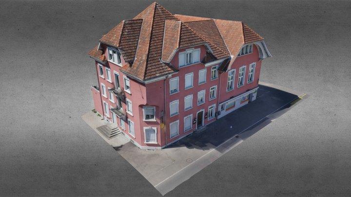 Restaurant Kreuz, Hohenrain LU 3D Model
