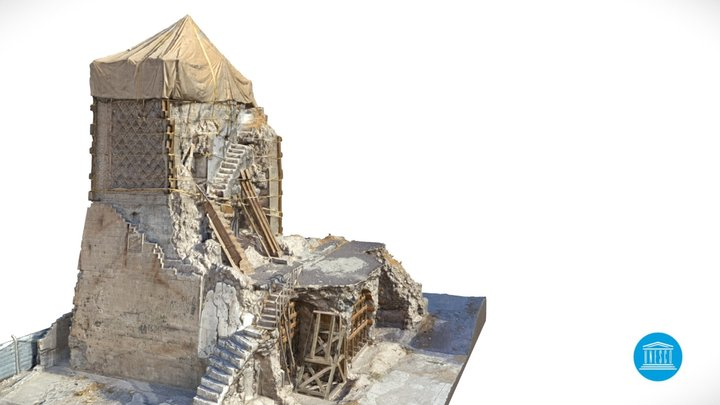 Al Hadba Minaret 3D Model