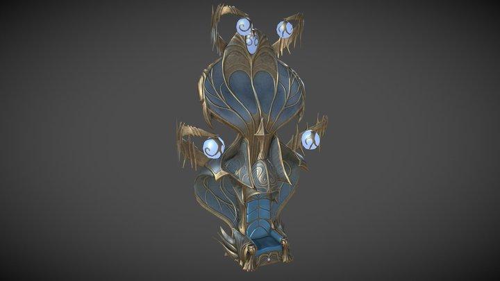 Draunheim Throne 3D Model