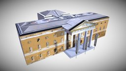 Saatchi Gallery Exterior 3D Model