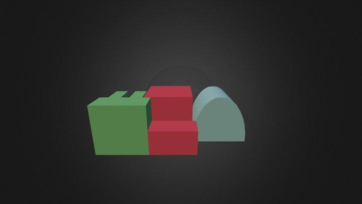 Puzzle Matemtico 3D Model