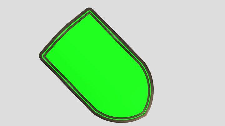 CustomShield 3D Model
