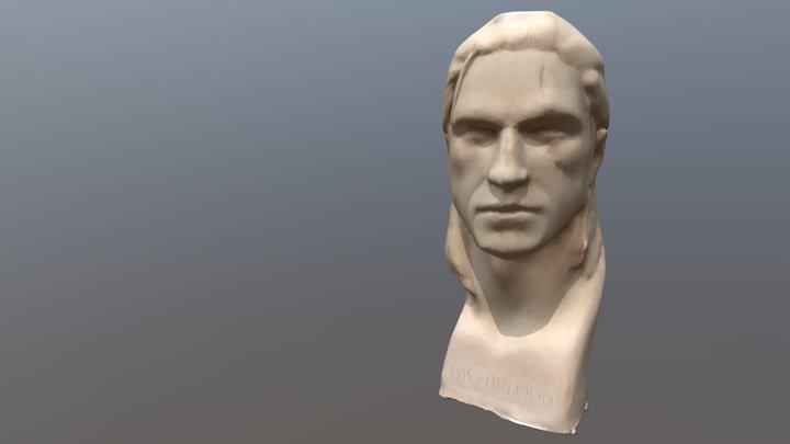 Autodesk remake test: Geralt 3D Model