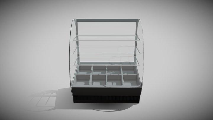 Display Case 3D Model