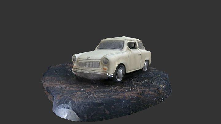 Trabant 3D 3D Model