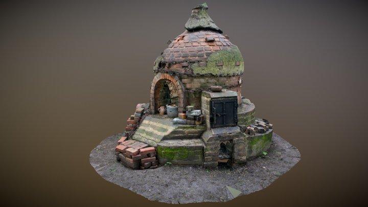 Pottery Kiln Kentwell Hall Suffolk 3D Model
