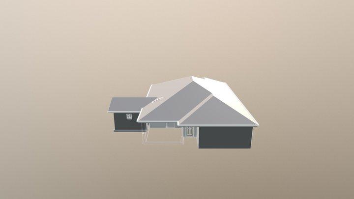 Small - medium residence 3D Model