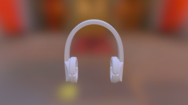 North face headphones 3D Model