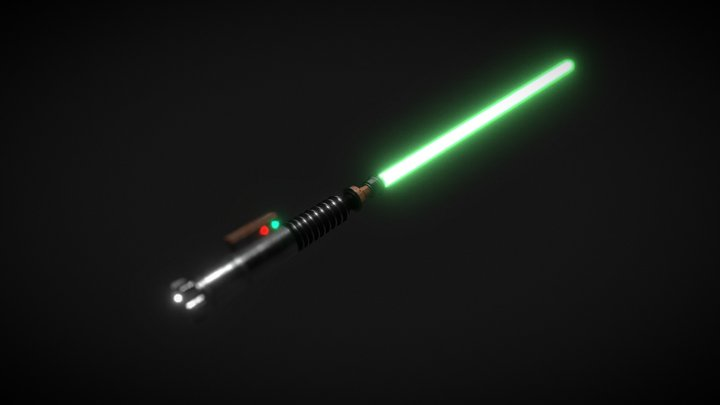 Luke Skywalker's Lightsaber 3D Model