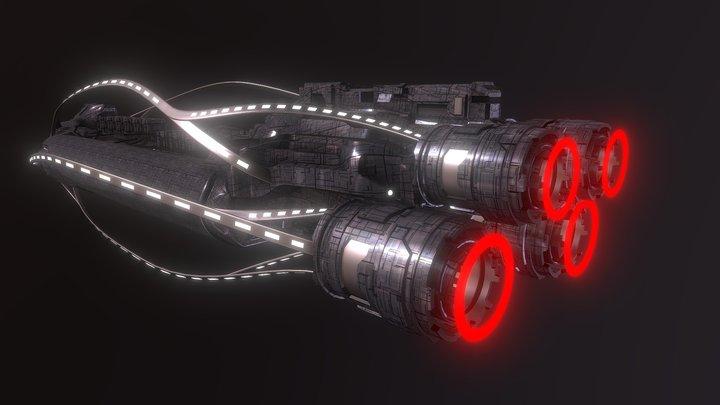 Intrepid ship Nostrands 3D Model
