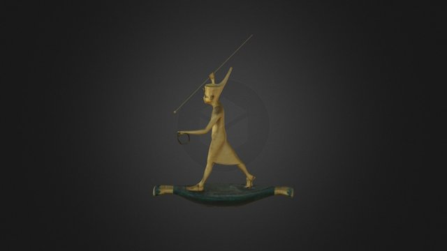 King Harpooner 3D Model