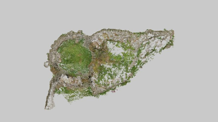 Point Cloud: Bosporthennis Beehive Hut 3D Model