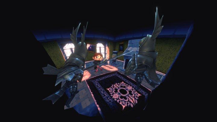 VGRemix - Dark Souls: New Leaf 3D Model