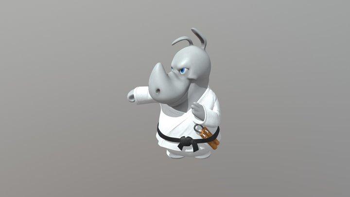 Tiny Rhyno 3D Model