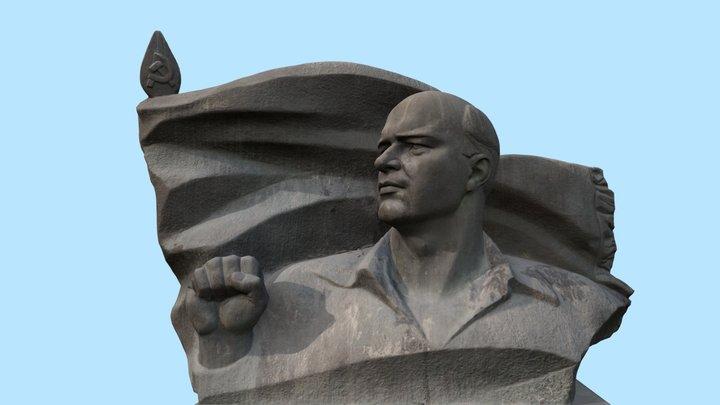 Ernst Thälmann Monument 3D Model