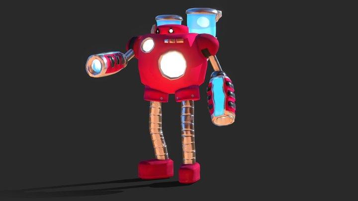 Artie the Aquagunner 3D Model