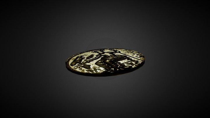 Baal Coin 3D Model