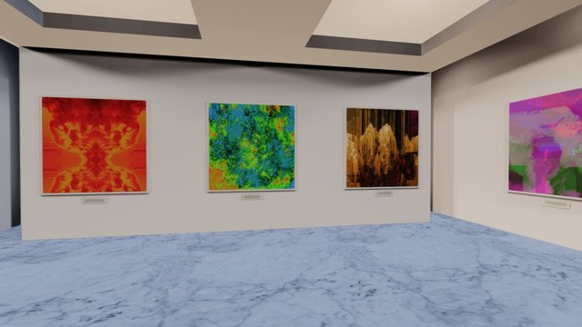 Instamuseum for @kathomsart 3D Model