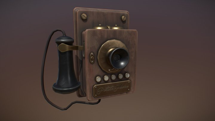 Old Phone 3D Model