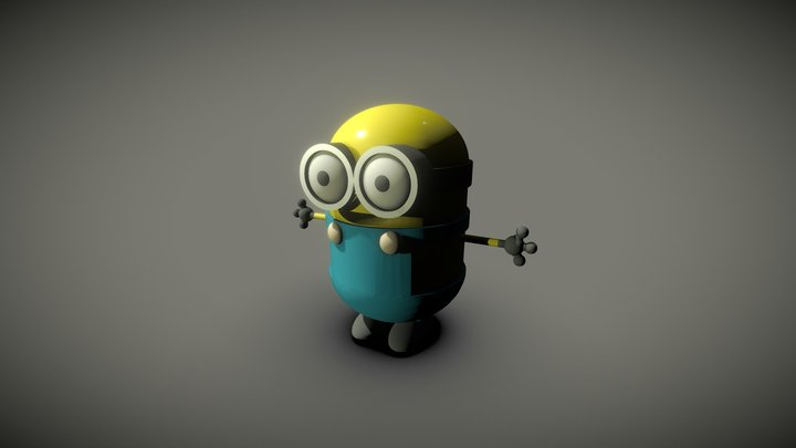 Exercise - Minions by TKW 3D Model