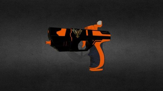 Medic Pistol 3D Model